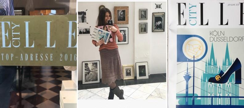 AÏE Boutique in der Elle City Köln Düsseldorf, Ausgabe Januar 2017